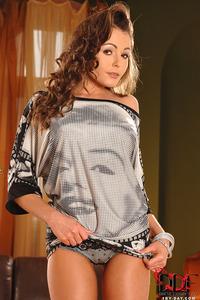 Brunette Babe Nelly Sullivan In Sexy Tight Mini Dress 09
