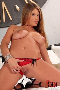 Eva Parcker Blond Babe In Sexy Red Panties 06