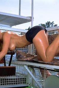 Silvie Thomas Sexy Nude Pussy 07