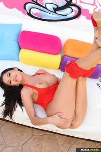 Aleksa Nicole Huge Pink Toy 12