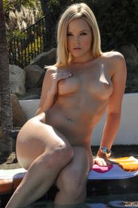 Alexis Texas Purple Bikini 05