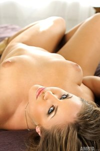 Heather Strips Her White Nighite And Panties 14
