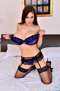 Cathy Heaven In Blue Lingerie 03