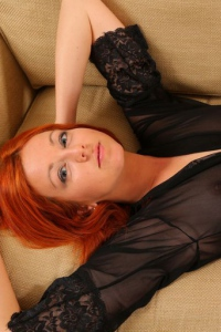 Redhead Angel Elen E Getting Nude 02