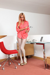 Ashley Bulgari Pantyhose 03