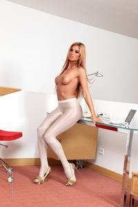 Ashley Bulgari Pantyhose 08