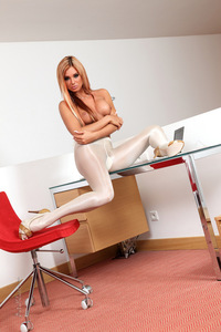 Ashley Bulgari Pantyhose 09