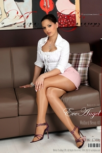 Eve Angel In Shiny Hudson HighLight Glanz Strumpfhose 00