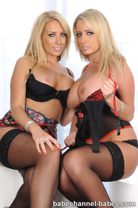 Busty Babes Claire And Louise Thornton 01
