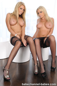 Busty Babes Claire And Louise Thornton 07