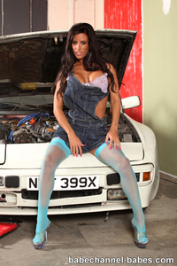 Charlie Monaco Sexy Blue Stockings 00