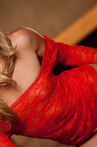 Lena Nicoles Red Dress 04