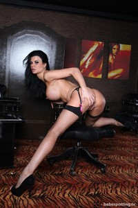 Jasmine Jae Fishnet Stockings 02