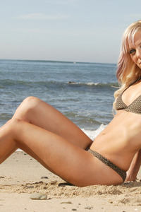 Amy Posing In Bikini 10