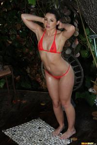 Lola Foxx Drops Her Bikini Off 07
