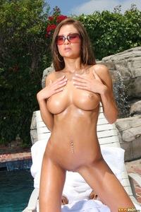 Ami Reid Pink Bikini 14