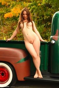 Milena Presenting Her Nice Body 09