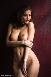 Sexy Naked Girl Linda With Amazing Big Breasts 03