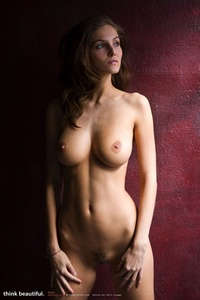 Sexy Naked Girl Linda With Amazing Big Breasts 11