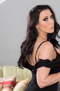 Rachel Starr In Sexy Black Dress 02