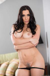 Rachel Starr In Sexy Black Dress 12