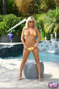 Bree Yellow Bikini 00