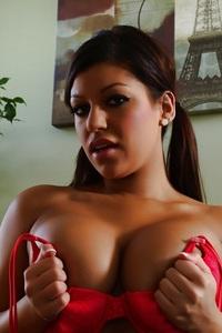 Briana Lee Pink Panties 11
