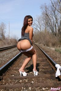 Briana Lee Railroad 03