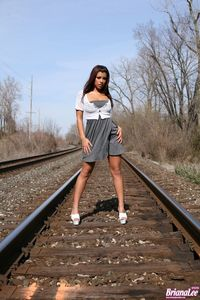 Briana Lee Railroad 07