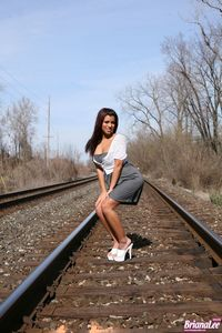 Briana Lee Railroad 08