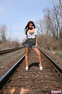 Briana Lee Railroad 09