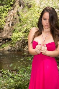 Bryci Fingers Herself In The Forest 01