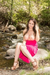 Bryci Fingers Herself In The Forest 10