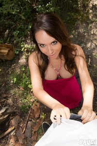 Bryci Fingers Herself In The Forest 14