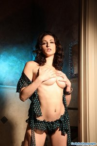 Carlotta Amazing In Her Dotted Lingerie 11