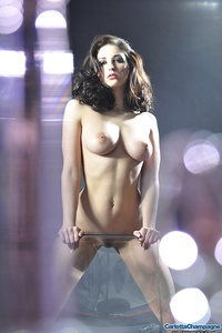 Carlotta Champagne Hot Nude Body 02
