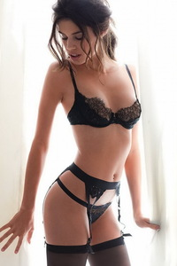 Beautiful Sara Sampaio Hot Lingerie Photos 13