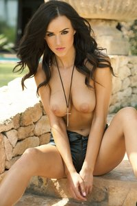 Adorable Brunette Babe Rosie Jones Nude Photos 08