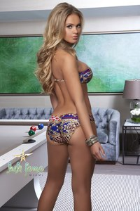 Elisandra Tomacheski Exposing Her Amazing Bikini Body 02