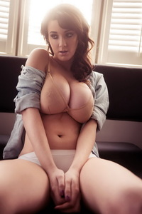 Joey Fisher Showing Off Her Fantastic Big Boobs 12
