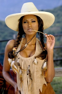 Traci Bingham Stripping Her Tiny Indian Outfit 00