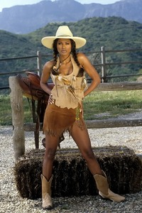 Traci Bingham Stripping Her Tiny Indian Outfit 03