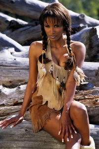 Traci Bingham Stripping Her Tiny Indian Outfit 07