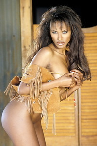 Traci Bingham Stripping Her Tiny Indian Outfit 15