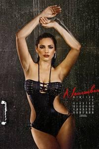 Kelly Brook Sexy Calendar Babe 11