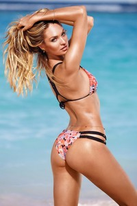 Candice Swanepoel Victoria's Secret Swim 2014 Photoshoot 05