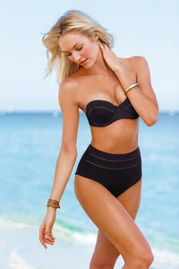 Candice Swanepoel Victoria's Secret Swim 2014 Photoshoot 11