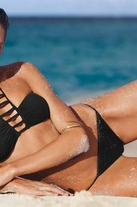 Candice Swanepoel Victoria's Secret Swim 2014 Photoshoot 13