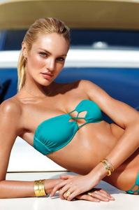 Candice Swanepoel Victoria's Secret Swim 2014 Photoshoot 14