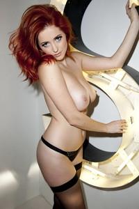 Lucy Collett Amazing Redhead Babe 02